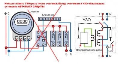 skhema podklyucheniya uzo45