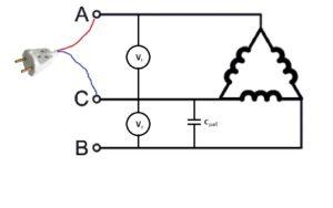 схема сопротивления двигателя