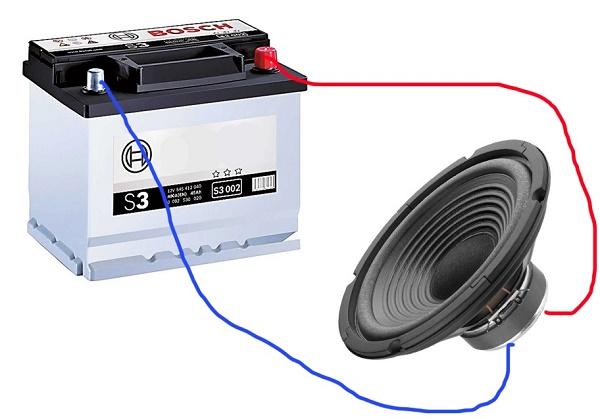 Подключение электрического прибора к аккумулятору