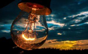 Электрический ток в лампе