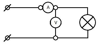 схема простой метод вычисления мощности осветительного прибора