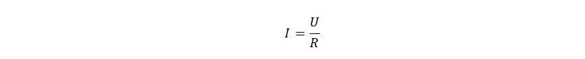 Классическая формула Ома
