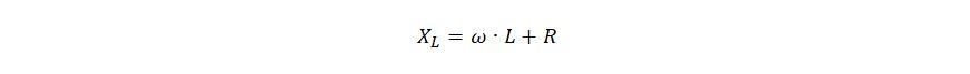 Формула сопротивления катушки