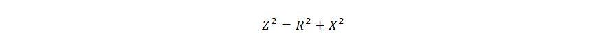 формула расчет сопротивления