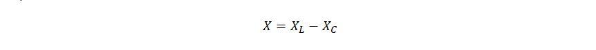 формула полное реактивное сопротивление